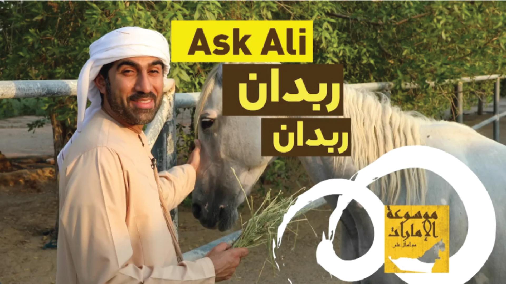 Ask Ali about Rabdan اسأل علي عن ربدان